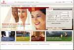 Emirates: nuova veste grafica del sito