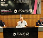 Giscard D'Estaing al meeting di Rimini: Club Med sempre vicino all'Italia
