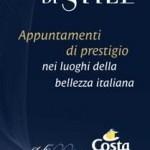 """Costa Crociere lancia """"Le notti di stile"""""""