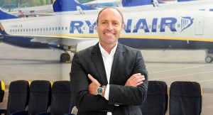 Kenny Jacobs, chief marketing officer Ryanair.